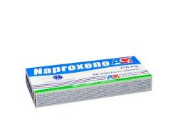Naproxeno 250 mg Caja Con 10 Tabletas Recubiertas