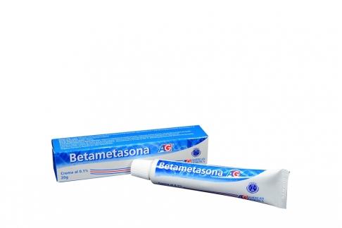 Betametasona Crema 0.1% Caja Con Tubo 20 g Rx