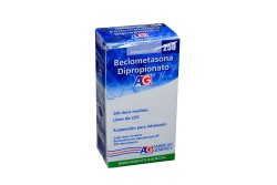 Beclometasona Dipropionato 250 Mcg Caja Con Inhalador X 200 Dosis Rx