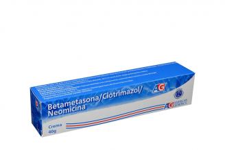 Betametasona / Clotrimazol / Neomicina Crema Caja Con Tubo Con 40 g Rx