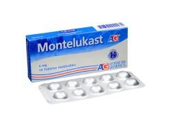 Montelukast 4 mg Caja Con 10 Tabletas Masticables Rx4