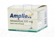 Ampliex Amoxicilina 500 mg Caja x 100 Cápsulas Rx2