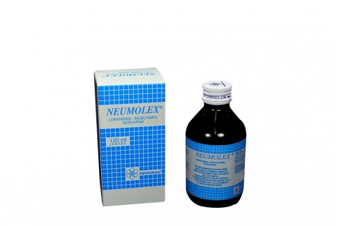 Neumolex Jarabe Caja Con Frasco x 120 mL Rx