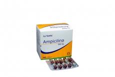 Ampicilina 500 mg Caja Con 100 Cápsulas Rx2