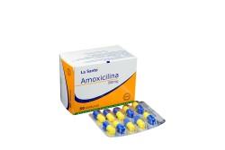 Amoxicilina 500 mg Caja Con 50 Cápsulas RX2