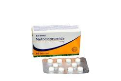 Metoclopramida 10 mg Caja Con 30 Tabletas Rx