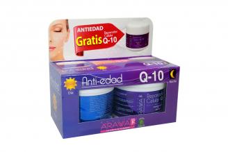 Arawak Kit Anti-edad Q10 Caja Con 2 Potes Con 50 g