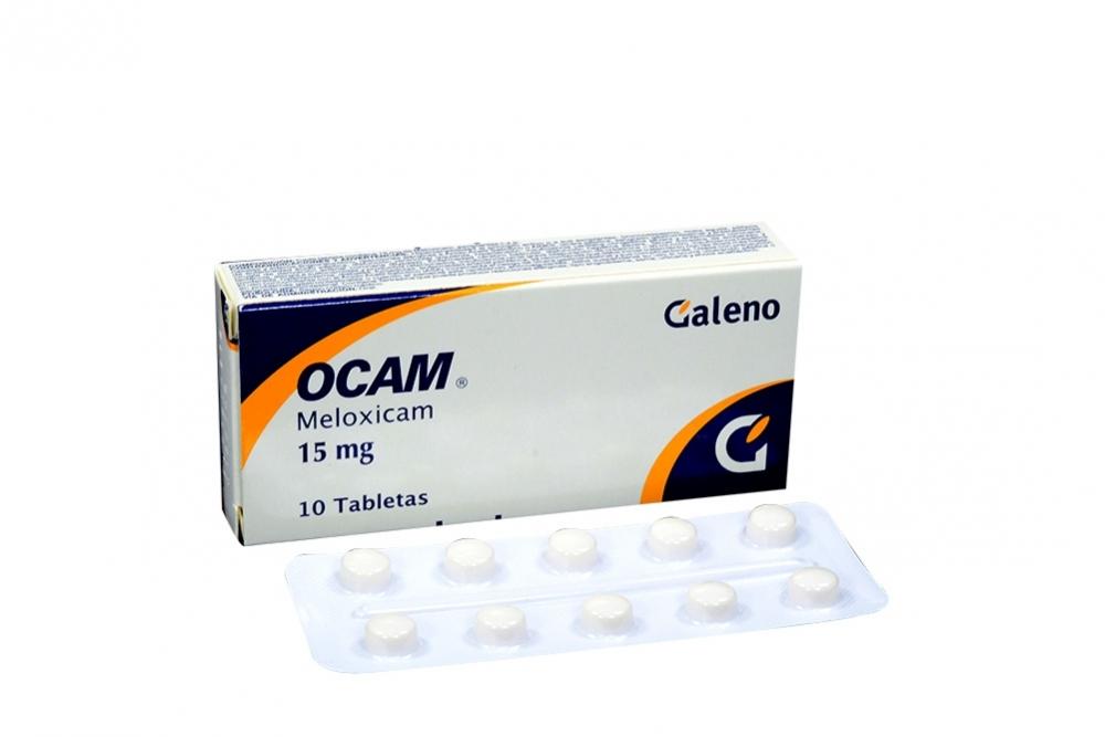 Ocam 15 mg Caja Con 10 Tabletas Rx