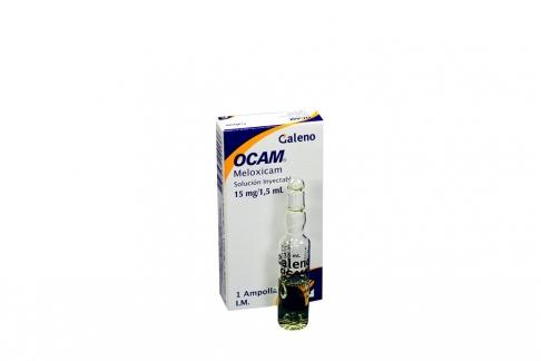 Ocam 15 mg / 1.5 mL Caja Con 1 Ampolla Rx