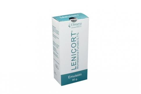 Lenicort 0.1% Caja Con Frasco X 60 g