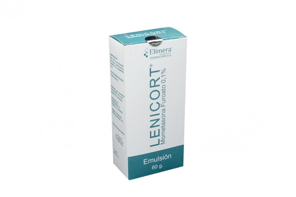 Lenicort 0.1% Caja Con Frasco Con 60 g Rx