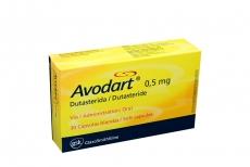 Avodart 0.5 mg Caja X 30 Cápsulas Rx
