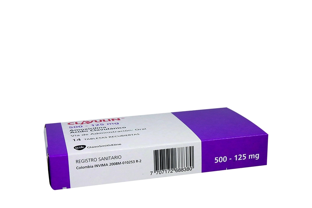Comprar Clavulin 500/125mg Con 14 Tabletas.En Farmalisto