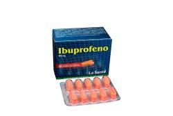 Ibuprofeno La Santé 800 mg Caja Con 50 Tabletas Recubiertas Rx