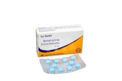Betahistina Diclorhidrato 16 mg Caja Con 20 Tabletas Rx.