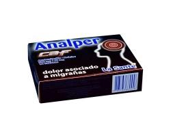 Analper Caf 500 / 40 mg Caja Con 12 Tabletas