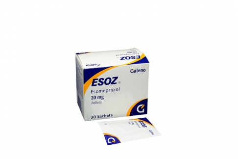 Esoz 20 mg Caja x 30 Sachets Rx
