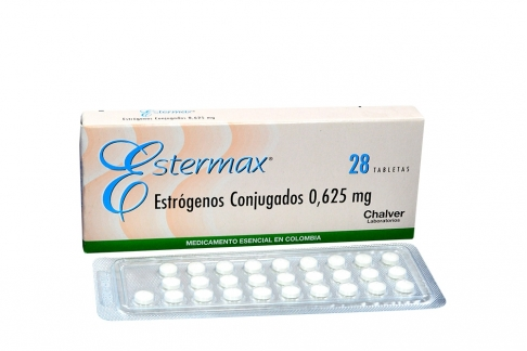 Estermax 0.625 mg Caja x 28 Tabletas Rx