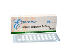 Estermax 0.625 mg Caja Con 28 Tabletas Rx  Rx1