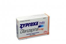 Zyprexa Zydis 5 mg Caja Con 14 Tabletas Dispersables Rx4