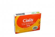 Cialis 5 mg Caja Con 14 Comprimidos Recubiertos Rx