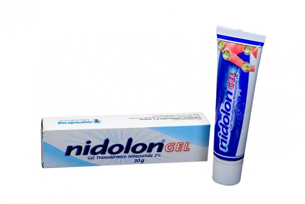 Nidolon Gel 2 % Caja Con Tubo Con 30 g