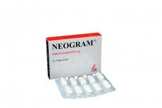 Neogram 875 Mg Caja X 10 Tabletas Rx2