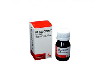 Paracodina Gotas Caja Con Frasco Con 30 mL Rx