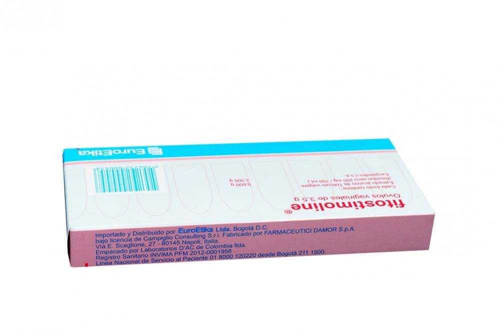 Comprar Fitostimoline 0600g Caja 6 óvulos En Farmalisto Colombia