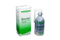 Roxicaina Solución 80 g Caja Con Frasco Atomizador 83 mL Rx