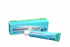 Roxicaina 5% Pomada Caja Con Tubo x 10 g Rx