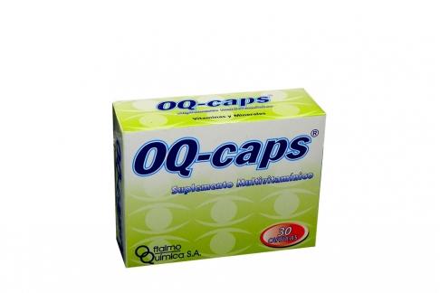 OQ - Cáps Caja X 30 Cápsulas.