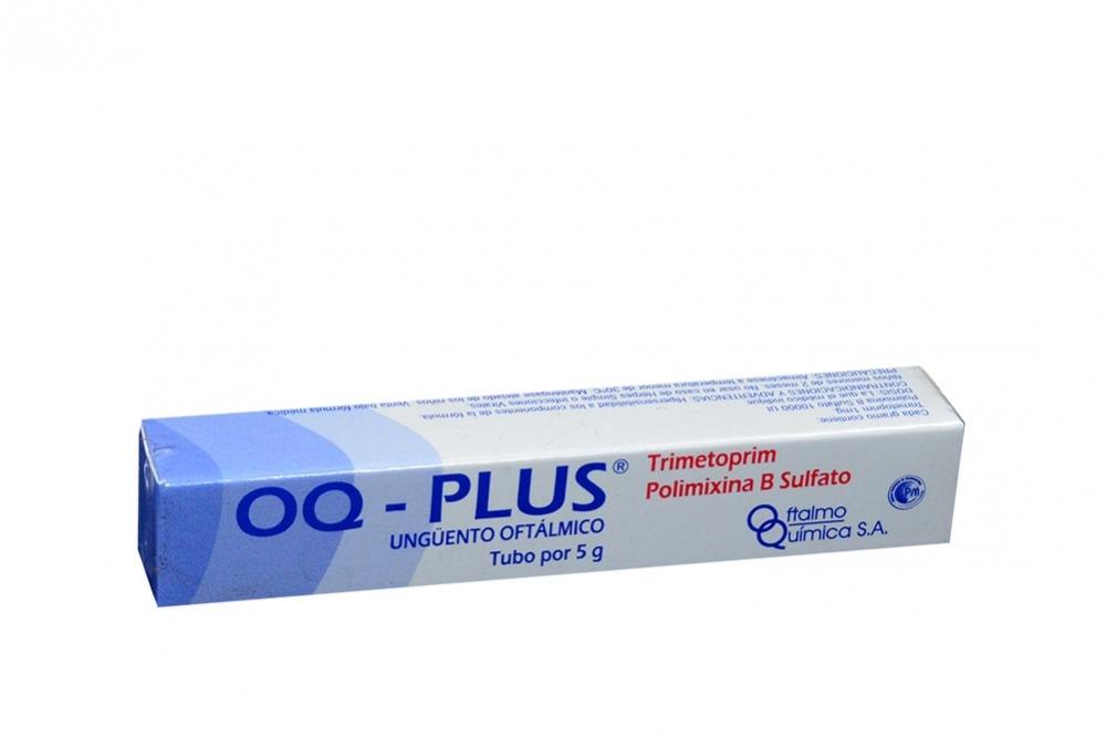 Oq Plus Unguento Oftálmico Caja Con Tubo X 3.5 g Rx2