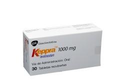 Keppra  TM 1000 mg Caja Con 30 Tabletas Recubiertas Rx4 Rx1