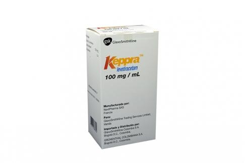 Keppra 100 mg / mL Caja Con Frasco 300 mL Rx4