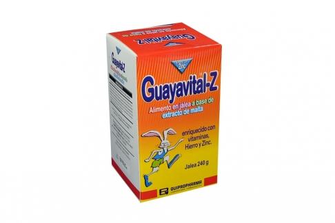 Guayavital-Z Jalea Caja Con Frasco Con 240 g