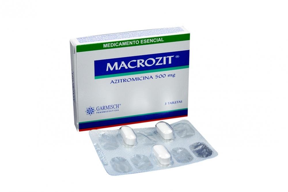 Macrozit 500 Mg Caja X 3 Tabletas Rx2