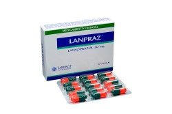 Lanpraz 30 mg Caja Con 30 Cápsulas Rx