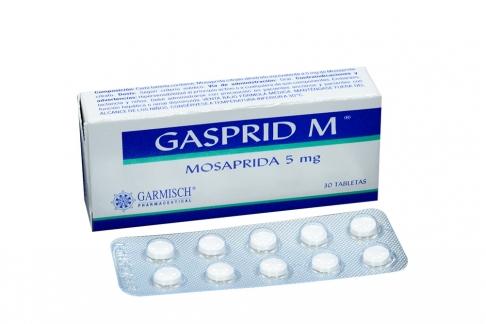 Gasprid M 5 mg Caja X 30 Tabletas Rx