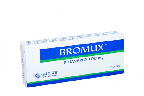 Bromux 100 mg Caja Con 20 Tabletas Rx
