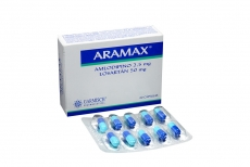 Aramax 2.5 / 50 mg Caja Con 30 Cápsulas Rx4