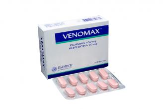 Venomax 450 / 50 mg Caja Con 30 Tabletas Rx