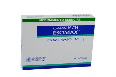 Garmisch Esomax 20 mg Caja Con 28 Cápsulas Rx