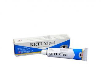 Ketum Gel 2,5% Caja Con Tubo Con 30 g