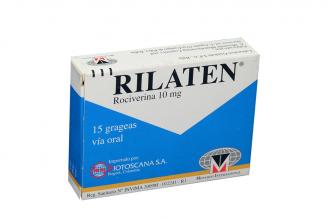 Rilaten 10 mg Caja Con 15 Grageas Rx