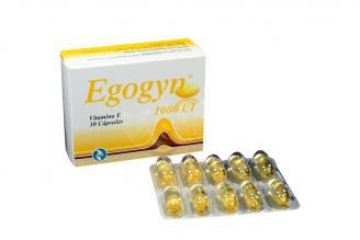 Egogyn 1000 UI Caja x 30 Cápsulas Rx