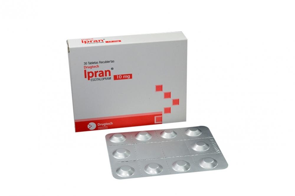 Ipran 10 mg Caja Con 30 Tabletas Recubietas Rx4