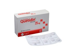 Drugtech Quetidin 25 mg Caja Con 30 Tabletas Rx1 Rx4