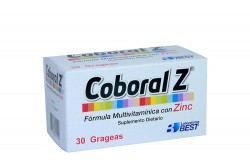 COBORAL Z  FRASCO X 30 GRAGEAS