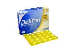 Delifon 5 Mg Caja X 20 Tabletas Recubiertas Rx